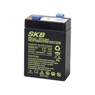 BATTERIA AL PIOMBO 6V 3.2AH SKB SK6-3.2