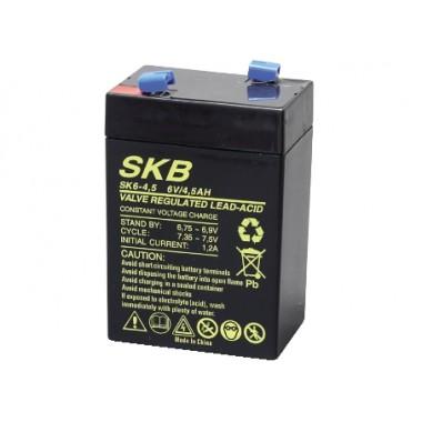 BATTERIA AL PIOMBO 6V 4.5AH SKB SK6-4.5