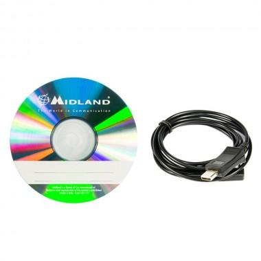 Software programmazione CT 890 Midland  PRG-10 cavo usb
