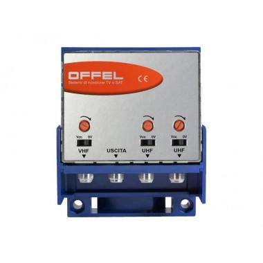 Amplificatore Offel 28-080 TV da palo AC/3 30dB V-U-U