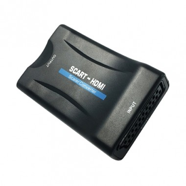 CONVERTITORE AUDIO VIDEO SCART / HDMI