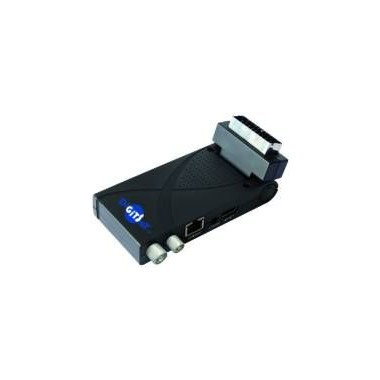RICEVITORE DECODER SCART RETRO TV STICK H265