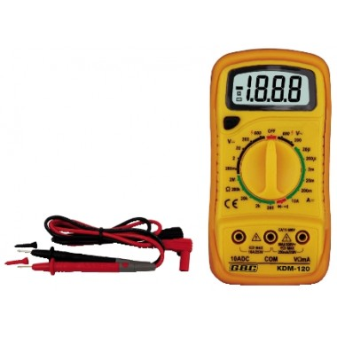 TESTER MULTIMETRO DIGITALE GBC KDM-120