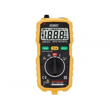 TESTER MULTIMETRO DIGITALE AUTORANGE GBC KDM-8232