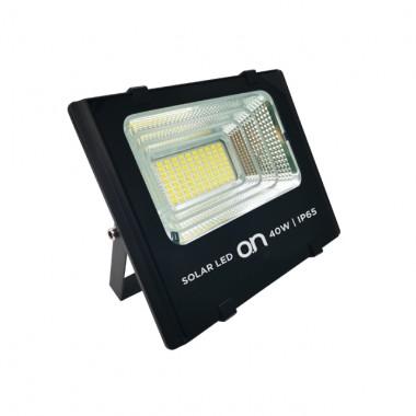 SOLAR LED 40 - FARO LED DA ESTERNI IP65 4000K + PANNELLO SOLARE 40W 1000LM
