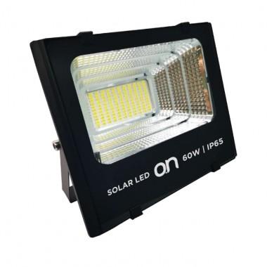 SOLAR LED 60 - FARO LED DA ESTERNI IP65 4000K + PANNELLO SOLARE 60W 1500LM