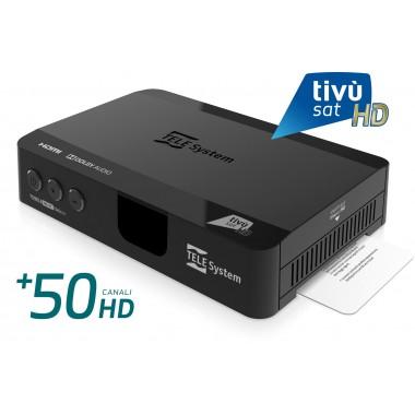 Decoder tivusat HD digitale satellitare TS9018 TELESYSTEM