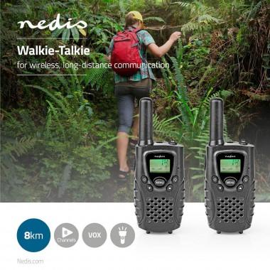 RADIO WALKIE TALKIE RICETRASMITTENTE 8 CANALI