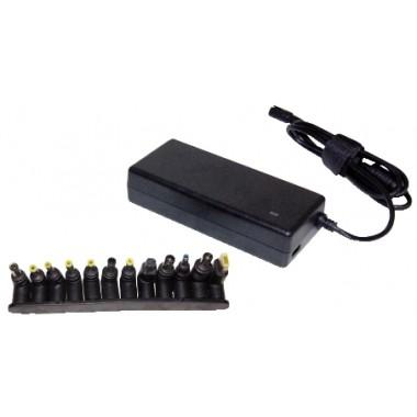ALIMENTATORE UNIVERSALE PER NOTEBOOK A TENSIONE VARIABILE AUTOMATICO 120W CON USB