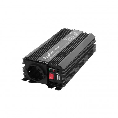Inverter Soft Start 600W Input 12 volt DC Out 230 Volt AC