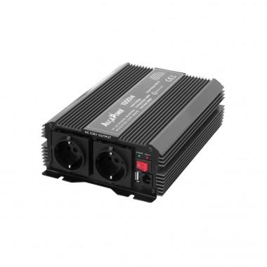 Inverter Soft Start 1000W Input 12 Volt DC Out 230 Volt AC
