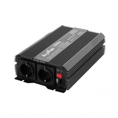 Inverter Soft Start 1500W Input 12 Volt DC Out 230 Volt AC