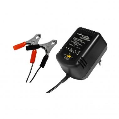 Caricatore per batterie al piombo 2-6-12 volt 600mAh