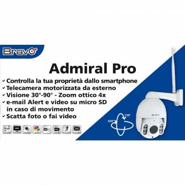 Telecamera wifi Admiral Pro